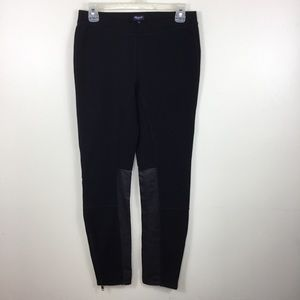 Madewell Leggings Faux Leather Panel Active Wear 8